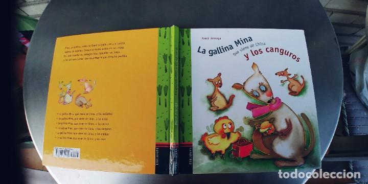 LA GALLINA MINA Y LOS CANGUROS,EDELVIVES, - TAPA DURA,29 PAGINAS,AÑO 2004 (Libros Nuevos - Literatura Infantil y Juvenil - Cuentos juveniles)