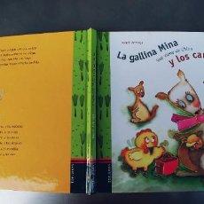 Libros: LA GALLINA MINA Y LOS CANGUROS,EDELVIVES, - TAPA DURA,29 PAGINAS,AÑO 2004. Lote 241513705