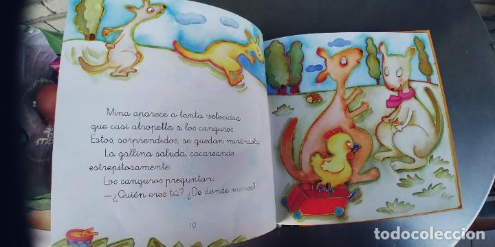 Libros: LA GALLINA MINA Y LOS CANGUROS,EDELVIVES, - TAPA DURA,29 PAGINAS,AÑO 2004 - Foto 2 - 241513705