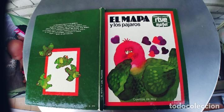 EL MAPA Y LOS PAJAROS,.AÑO 1977,RTVE MARPOL,AÑO 1977,TAPA DURA (Libros Nuevos - Literatura Infantil y Juvenil - Cuentos juveniles)
