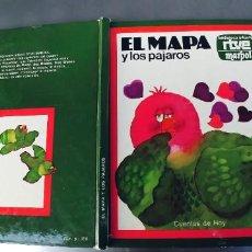 Libros: EL MAPA Y LOS PAJAROS,.AÑO 1977,RTVE MARPOL,AÑO 1977,TAPA DURA. Lote 241516800