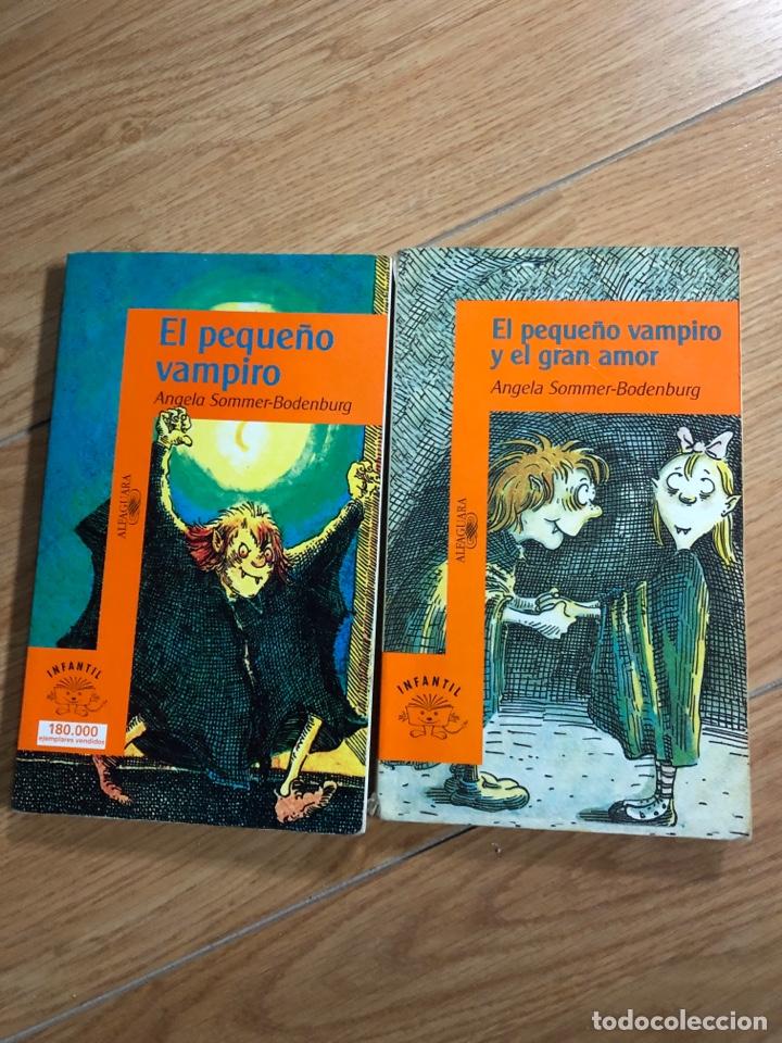 LOTE DOS LIBROS EL PEQUEÑO VAMPIRO ALFAGUARA GRAN AMOR (Libros Nuevos - Literatura Infantil y Juvenil - Cuentos juveniles)