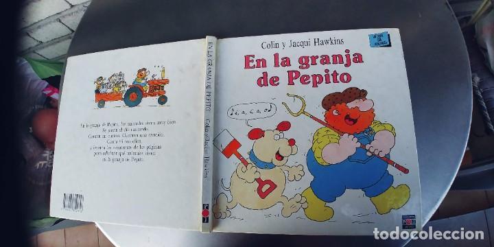 EN LA GRANJA DE PEPITO,TAPA DURA,PLAZA JOVEN,AÑO 1990 (Libros Nuevos - Literatura Infantil y Juvenil - Cuentos juveniles)