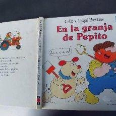 Libros: EN LA GRANJA DE PEPITO,TAPA DURA,PLAZA JOVEN,AÑO 1990. Lote 242385750