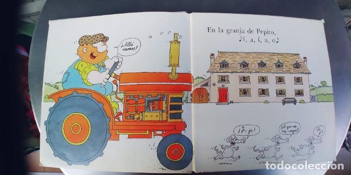 Libros: EN LA GRANJA DE PEPITO,TAPA DURA,PLAZA JOVEN,AÑO 1990 - Foto 2 - 242385750