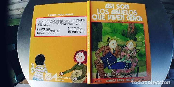 ASI SON LOS ABUELOS QUE VIVEN CERCA. ADRIANA D'ATRI. ED. ALTEA.AÑO 1977 (Libros Nuevos - Literatura Infantil y Juvenil - Cuentos juveniles)