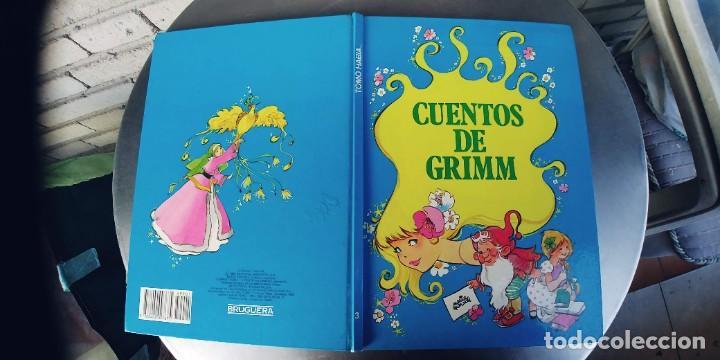 CUENTOS DE GRIMM NUMERO 3,TAPA DURA,AÑO 1983,BRUGUERA (Libros Nuevos - Literatura Infantil y Juvenil - Cuentos juveniles)