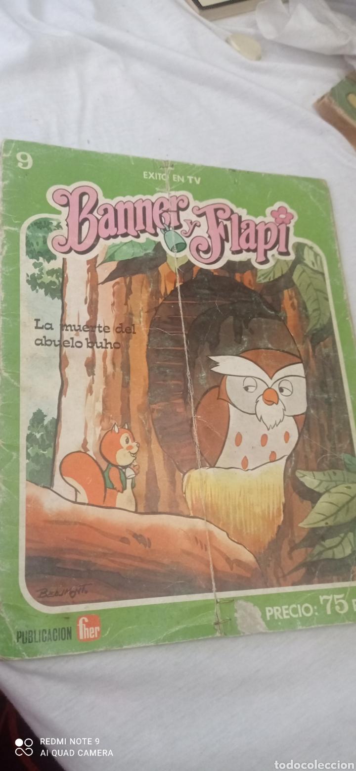TEBEO BANNER Y FLAPY N°9 - LA MUERTE DEL ABUELO BUHO - DEL AÑO 1979 DE EDICIONES FHER (Libros Nuevos - Literatura Infantil y Juvenil - Cuentos juveniles)