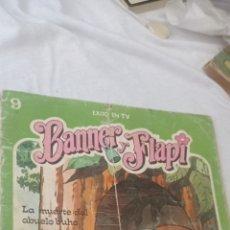 Libros: TEBEO BANNER Y FLAPY N°9 - LA MUERTE DEL ABUELO BUHO - DEL AÑO 1979 DE EDICIONES FHER. Lote 243626395