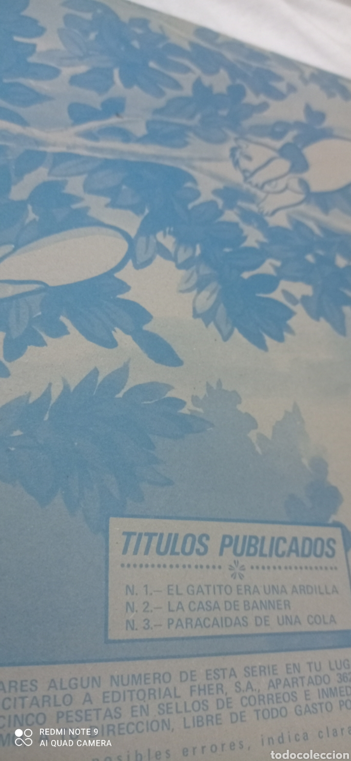 Libros: Tebeo Banner y Flapy N°3 - Paracaídas de una cola- del año 1979 de ediciones Fher. - Foto 6 - 243627540
