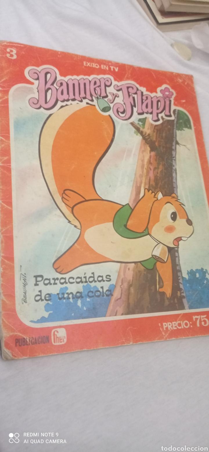 TEBEO BANNER Y FLAPY N°3 - PARACAÍDAS DE UNA COLA- DEL AÑO 1979 DE EDICIONES FHER. (Libros Nuevos - Literatura Infantil y Juvenil - Cuentos juveniles)