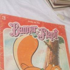 Libros: TEBEO BANNER Y FLAPY N°3 - PARACAÍDAS DE UNA COLA- DEL AÑO 1979 DE EDICIONES FHER.. Lote 243627540