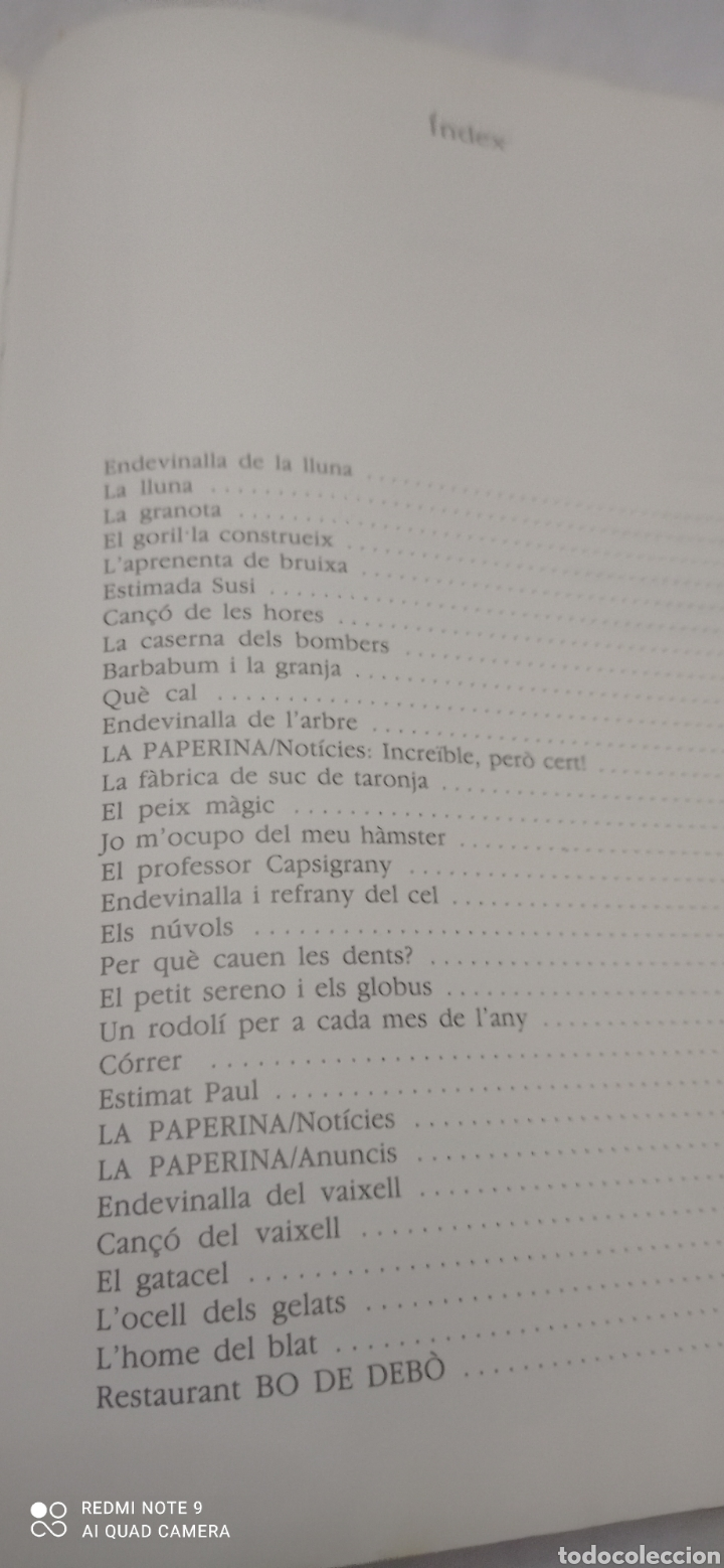 Libros: TRICICLE LECTURES . 2. CICLE INICIAL.EDITORIAL CRUILLA. 1989. - Foto 10 - 243885030
