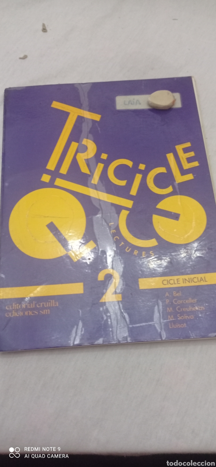 Libros: TRICICLE LECTURES . 2. CICLE INICIAL.EDITORIAL CRUILLA. 1989. - Foto 12 - 243885030