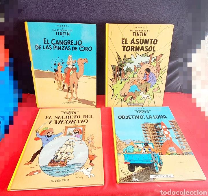 LOTE DE HERGÉ LAS AVENTURAS DE TINTIN JUVENTUD (Libros Nuevos - Literatura Infantil y Juvenil - Cuentos juveniles)