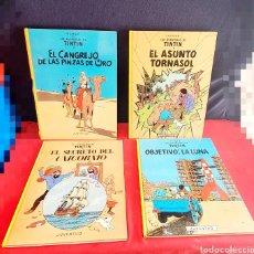Libri: LOTE DE HERGÉ LAS AVENTURAS DE TINTIN JUVENTUD. Lote 251339660