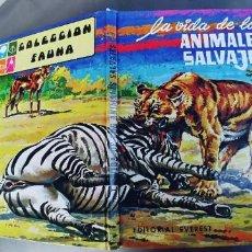 Libros: LA VIDA DE LOS ANIMALES SALVAJES ,EDICIONES EVEREST ,TAPA DURA. Lote 251636570