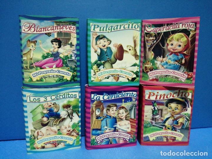 COLECCIÓN DE 6 MINI CUENTOS MI PEQUEÑO CUENTO 7CM X 5 CM (Libros Nuevos - Literatura Infantil y Juvenil - Cuentos juveniles)