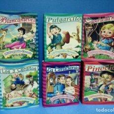 Libros: COLECCIÓN DE 6 MINI CUENTOS MI PEQUEÑO CUENTO 7CM X 5 CM. Lote 251679605