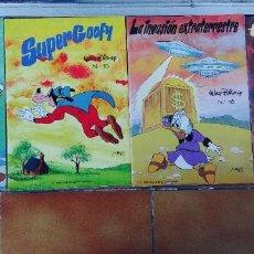 Libros: WALT DISNEY,LOTE DE 4 CUENTOS,MAVES,1980,TAPA FINA. Lote 253010660