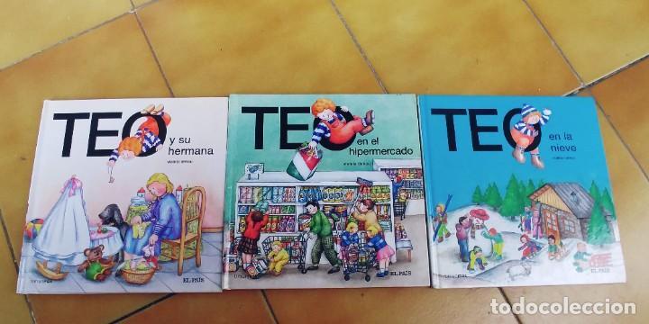 TEO EN EL HIPERMERCADO , TEO EN LA NIEVE,TEO Y SU HERMANA,TAPA DURA,EL PAIS (Libros Nuevos - Literatura Infantil y Juvenil - Cuentos juveniles)