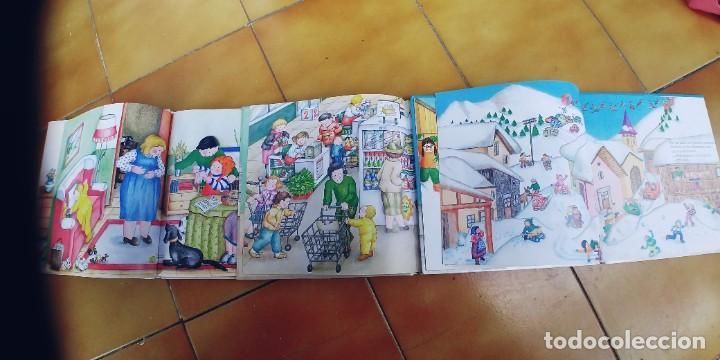 Libros: TEO EN EL HIPERMERCADO , TEO EN LA NIEVE,TEO Y SU HERMANA,TAPA DURA,EL PAIS - Foto 2 - 257310495