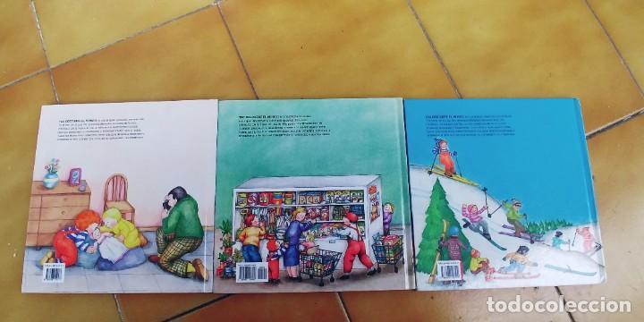 Libros: TEO EN EL HIPERMERCADO , TEO EN LA NIEVE,TEO Y SU HERMANA,TAPA DURA,EL PAIS - Foto 3 - 257310495