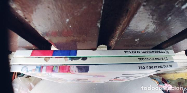 Libros: TEO EN EL HIPERMERCADO , TEO EN LA NIEVE,TEO Y SU HERMANA,TAPA DURA,EL PAIS - Foto 4 - 257310495