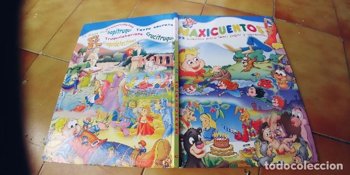 MAXICUENTOS ,PARA LEER,JUGAR Y APRENDER,,PRIMERA Y ULTIMA PAGINA EN BLANCO PINTADAS DE CERA (Libros Nuevos - Literatura Infantil y Juvenil - Cuentos juveniles)