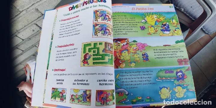 Libros: MAXICUENTOS ,PARA LEER,JUGAR Y APRENDER,,PRIMERA Y ULTIMA PAGINA EN BLANCO PINTADAS DE CERA - Foto 3 - 257316125