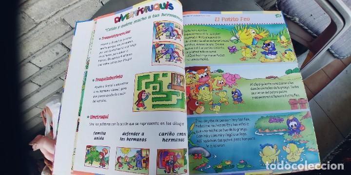 Libros: MAXICUENTOS ,PARA LEER,JUGAR Y APRENDER,,PRIMERA Y ULTIMA PAGINA EN BLANCO PINTADAS DE CERA - Foto 4 - 257316125