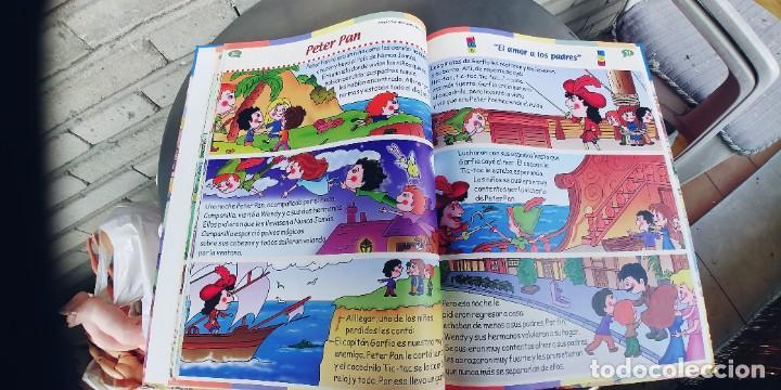Libros: MAXICUENTOS ,PARA LEER,JUGAR Y APRENDER,,PRIMERA Y ULTIMA PAGINA EN BLANCO PINTADAS DE CERA - Foto 7 - 257316125
