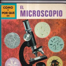 Libros: COMO Y POR QUE DE EL MICROSCOPIO - Nº 13 - ED. MOLINO 1969. Lote 266528683