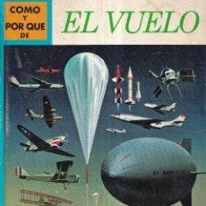 Libros: COMO Y POR QUE DE EL VUELO - Nº 14 - ED. MOLINO 1969. Lote 266529673