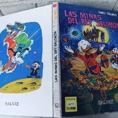 Libros: LAS MINAS DEL REY SALOMON.Nº 1 COLECCION DUMBO. SALVAT 2012,TAPA DURA. Lote 266941764