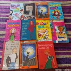 Libros: LOTE JUVENIL, 11 SEMI NUEVOS.. Lote 269202398