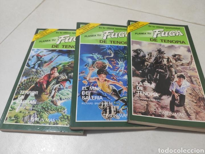 Libros: Lote Fuga de tenopia timun Mas,1,2 y 3. - Foto 2 - 269738608