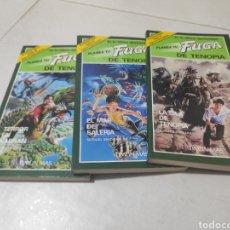 Libros: LOTE FUGA DE TENOPIA TIMUN MAS,1,2 Y 3.. Lote 269738608