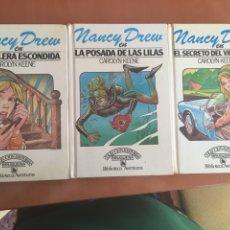 Libros: NANCY DREW COLECCIÓN BRUGUERA AŃOS 80. Lote 270548593