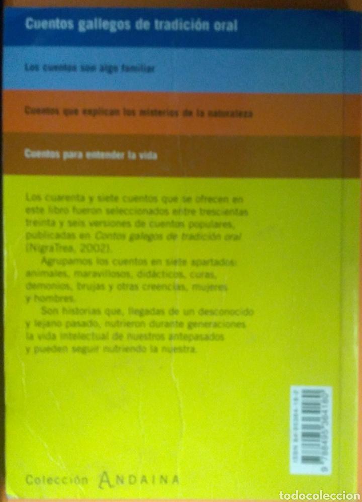 Libros: Cuentos Gallegos de tradicción oral. Camiño Noa Campos - Foto 2 - 272070583
