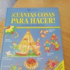 Libros: CUÁNTAS COSAS PARA HACER. Lote 273150688
