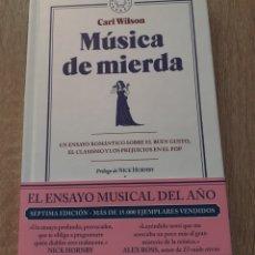 Libros: MÚSICA DE MIERDA CARL WILSON. Lote 273356963