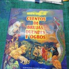Livros: CUENTOS DE BRUJAS, DUENDES Y OGROS. Lote 275461878