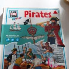 Libros: LIBRO PIRATS TAPA DURA. Lote 275985858