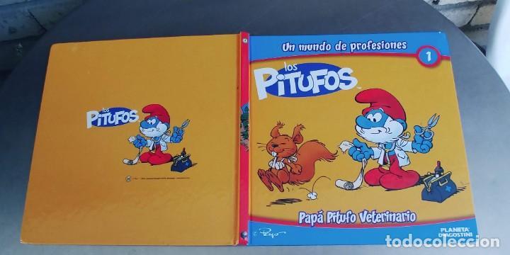 LOS PITUFOS - PAPÁ PITUFO VETERINARIO,TAPA DURA,PLANETA DE AGOSTINI (Libros Nuevos - Literatura Infantil y Juvenil - Cuentos juveniles)