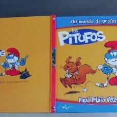 Libros: LOS PITUFOS - PAPÁ PITUFO VETERINARIO,TAPA DURA,PLANETA DE AGOSTINI. Lote 276371668