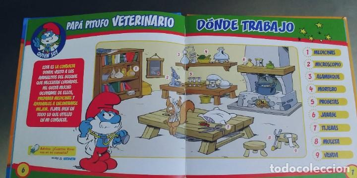 Libros: Los Pitufos - Papá Pitufo veterinario,tapa dura,planeta de agostini - Foto 2 - 276371668
