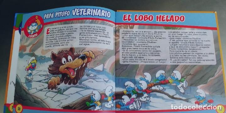 Libros: Los Pitufos - Papá Pitufo veterinario,tapa dura,planeta de agostini - Foto 3 - 276371668