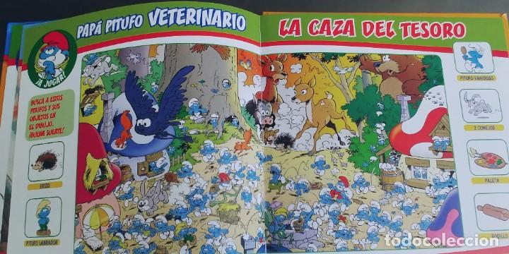 Libros: Los Pitufos - Papá Pitufo veterinario,tapa dura,planeta de agostini - Foto 4 - 276371668