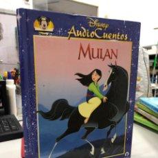 Libros: MULÁN DISNEY AUDIO CUENTOS LIBRO ILUSTRADO. Lote 281867768